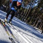 beim Skitesten
